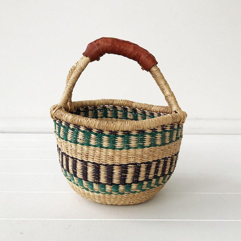 Indigo Mini Market Bolga Basket Collective Sol