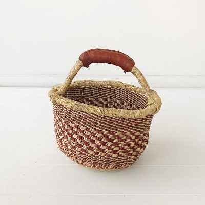 Rose Mini Market Bolga Basket Collective Sol