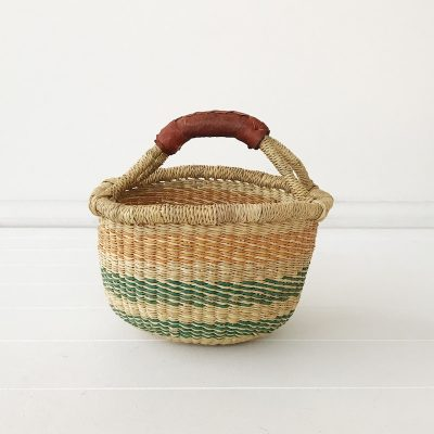 Wattle Mini Market Bolga Basket Collective Sol