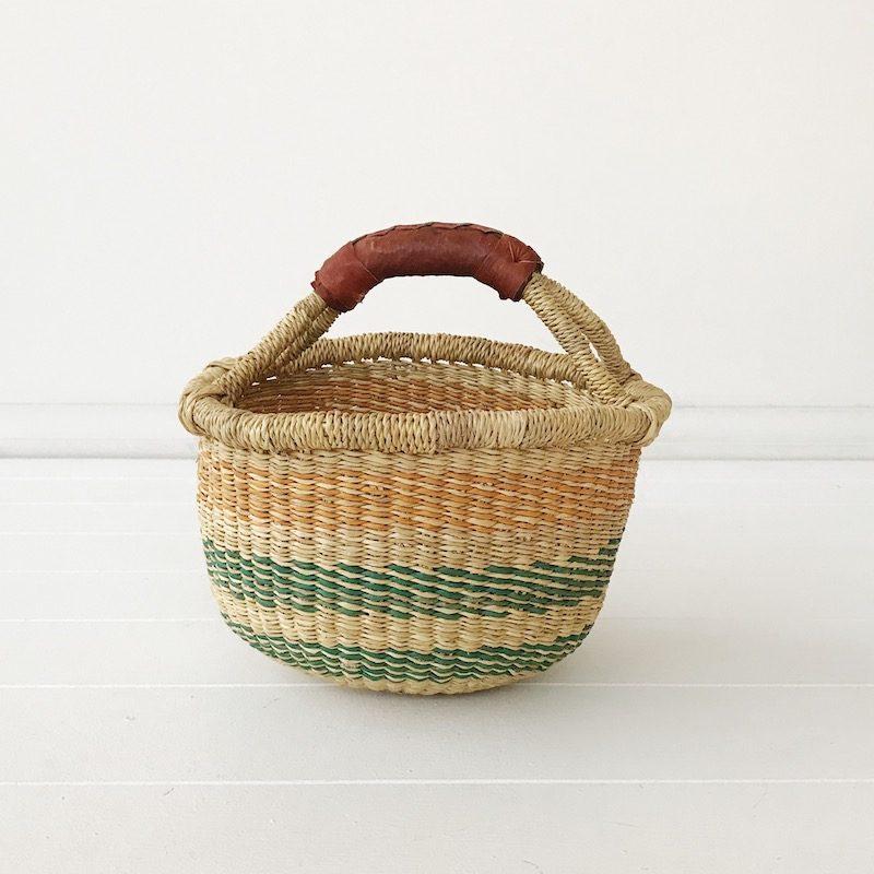 Wattle Mini Market Bolga Basket Collective Sol