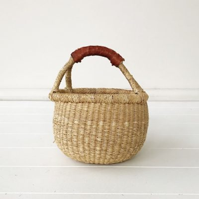 Natural Mini Market Bolga Basket Collective Sol