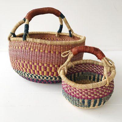 Mama Mini Basket Set Lilac