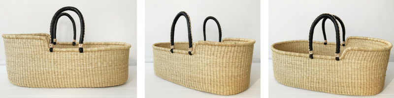 Fairtrade Moses Baby Basket