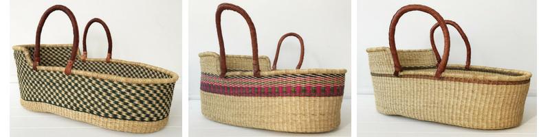 Fairtrade Moses Baby Basket