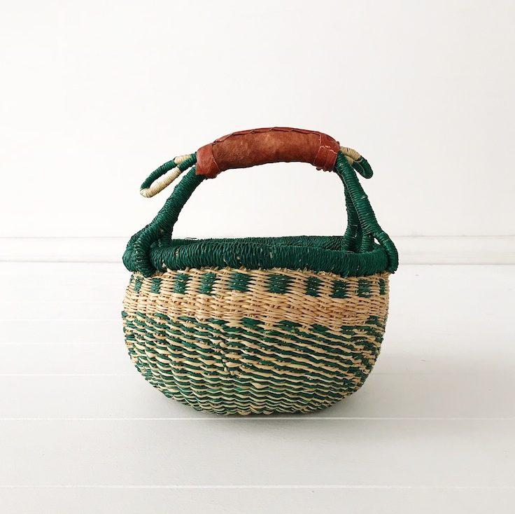 Fern Mini Market Basket Collective Sol