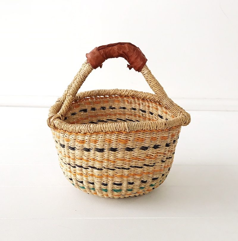 Marigold Mini Market Basket Collective Sol