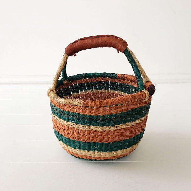 Nutmeg Mini Market Basket Collective Sol