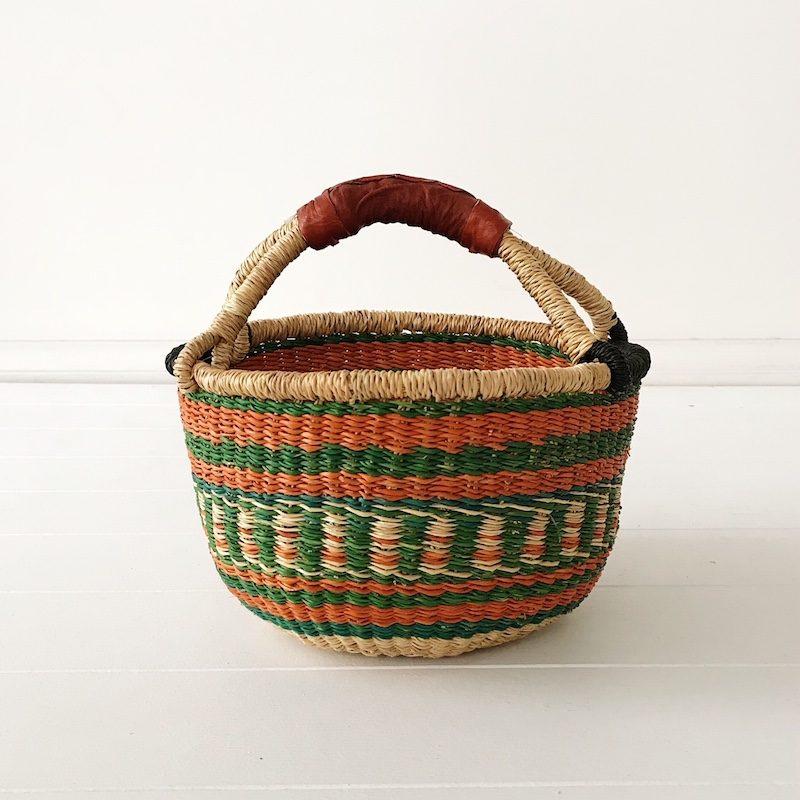 Pine Mini Market Basket Collective Sol