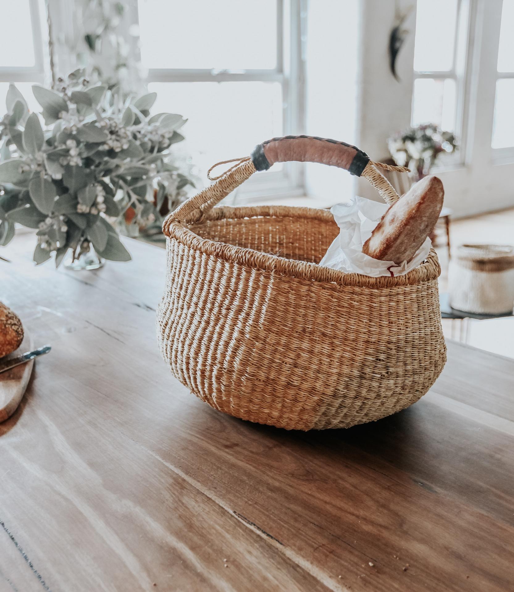 large market baskets