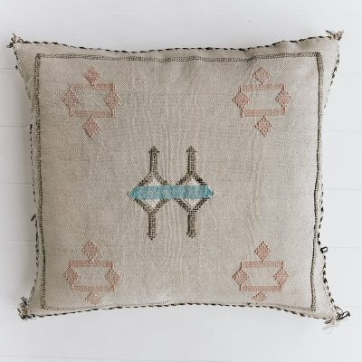 Cactus Silk Cushion Natural Collective Sol