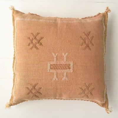 Cactus Silk Cushion Peach Collective Sol
