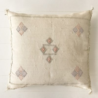 Cactus Silk Cushion Stone Collective Sol