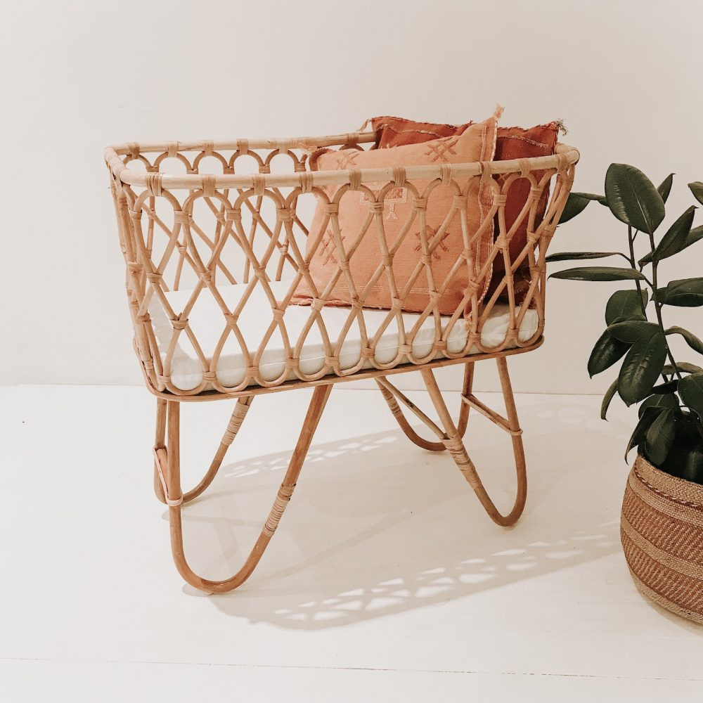 Rattan Bassinet Collective Sol