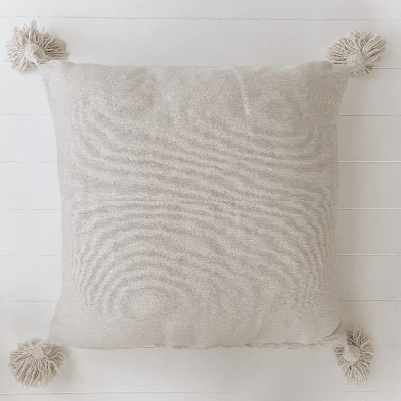 Harper Natural Moroccan Cushion