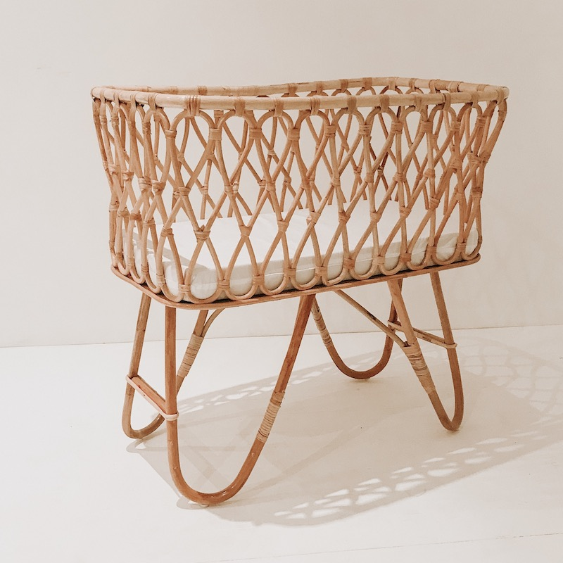 Frankie Rattan Bassinet Collective Sol