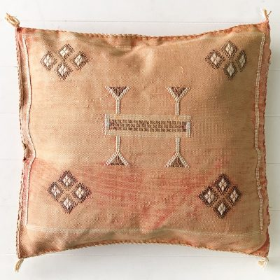 Collective Sol Cactus-Silk-Cushion-Peach-3