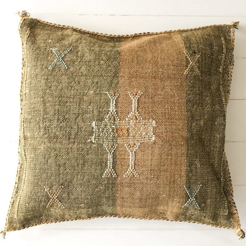 Cactus Silk Cushion Collective Sol