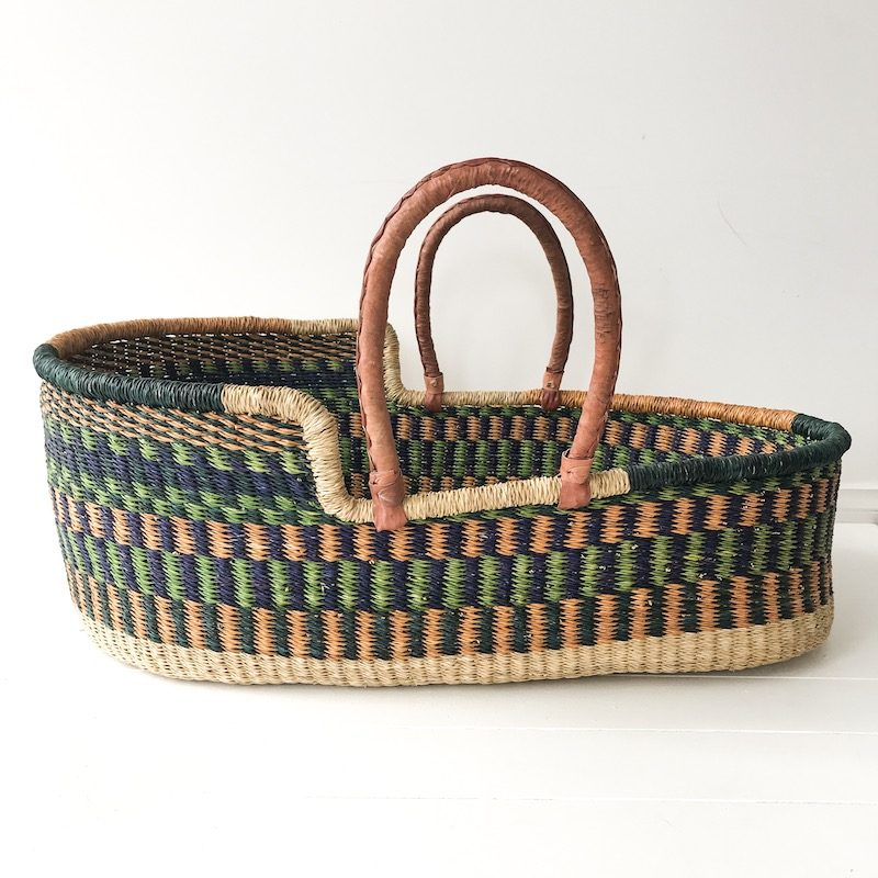 Forest Moses Basket Collective Sol