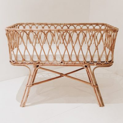 Lyla Baby Rattan Bassinet Collective Sol 2