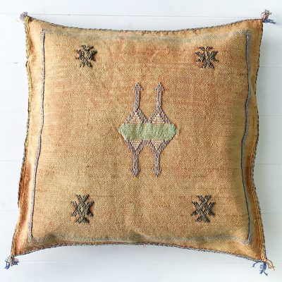 Collective Sol Cactus-Silk-Cushion-Peach-2