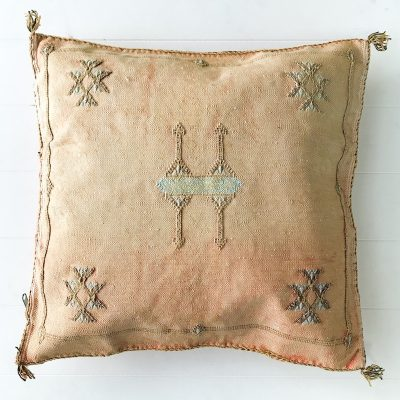 Collective Sol Cactus-Silk-Cushion-Peach-4
