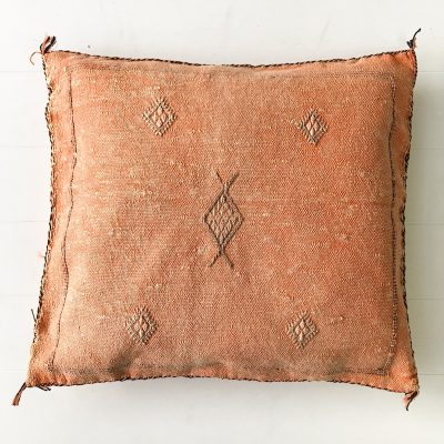 Collective Sol Cactus-Silk-Cushion-Peach-6