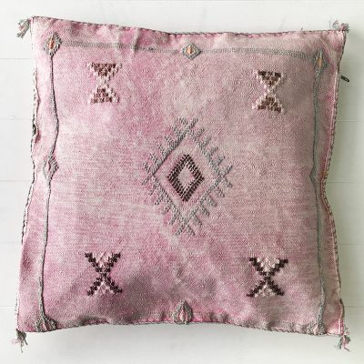 Collective-Sol-Cactus-Silk-Cushion-Blush-8