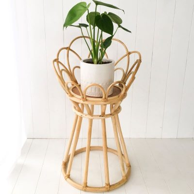 Collective Sol Poppy Plant Stand Natural
