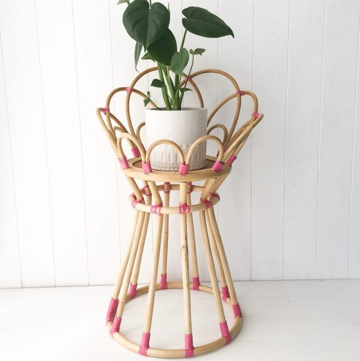 Poppy Plant Stand Pink Collective Sol
