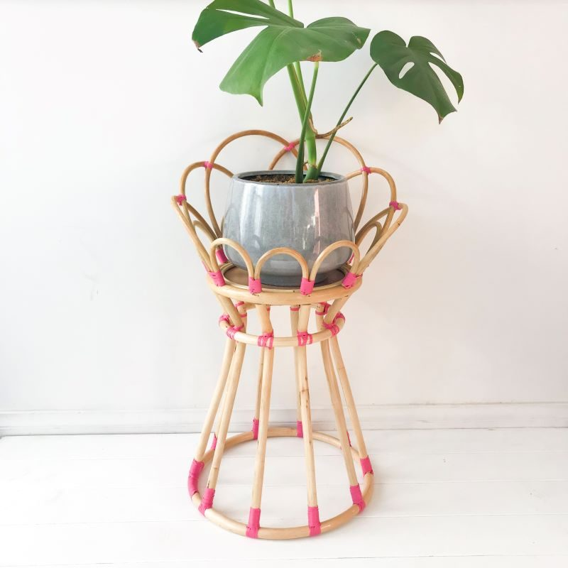 Collective Sol Poppy-Plant-Stand-Pink-CHF44021