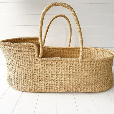 Collective Sol Vegan Moses Basket CBB35091-V
