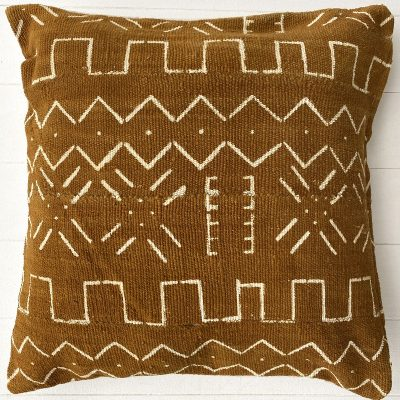 Collective Sol Sienna Marley Mudcloth Cushion