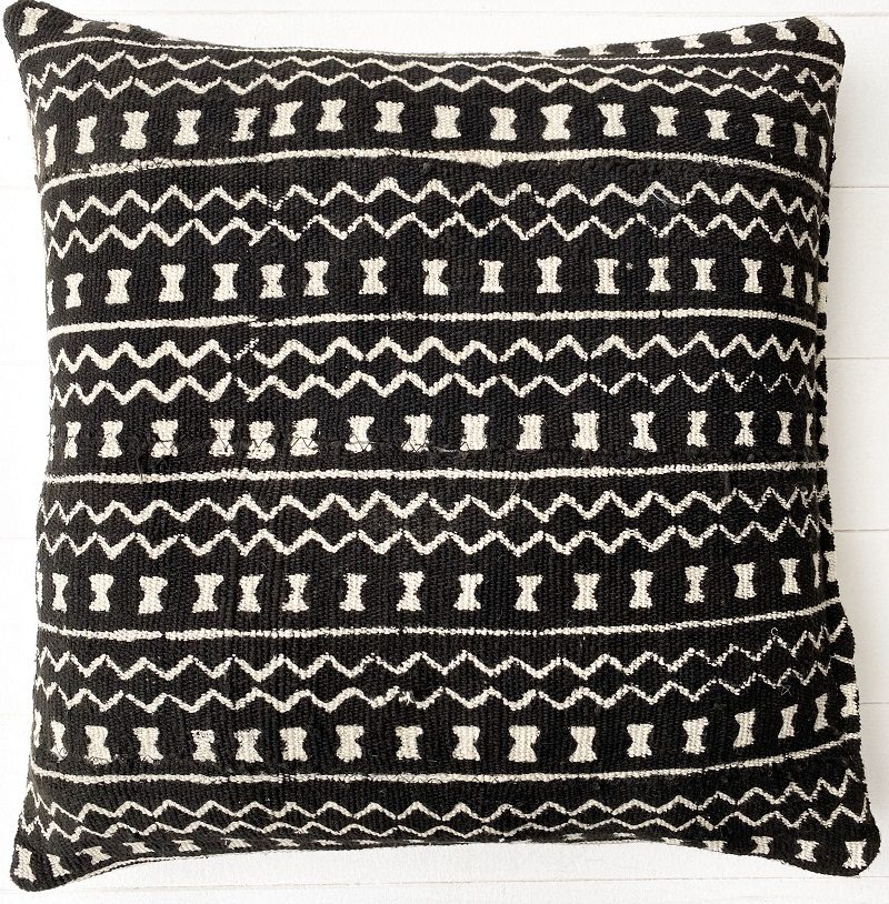 Collective Sol Marley Mudcloth Black Style 1