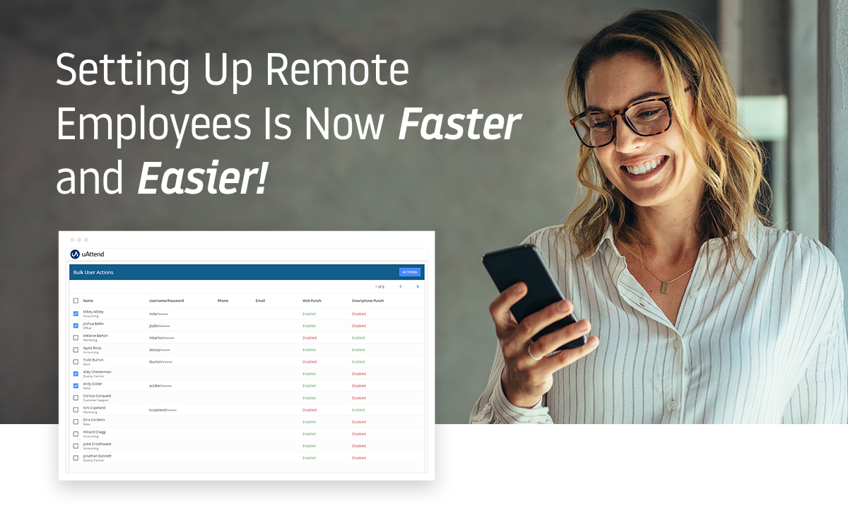 Setting up remote employess is now faster and easier!