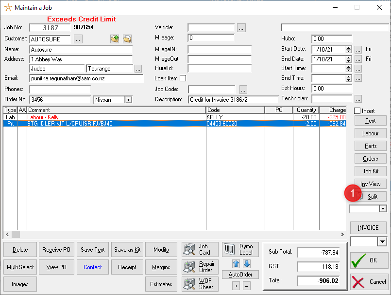 Graphical user interface, application, table  Description automatically generated