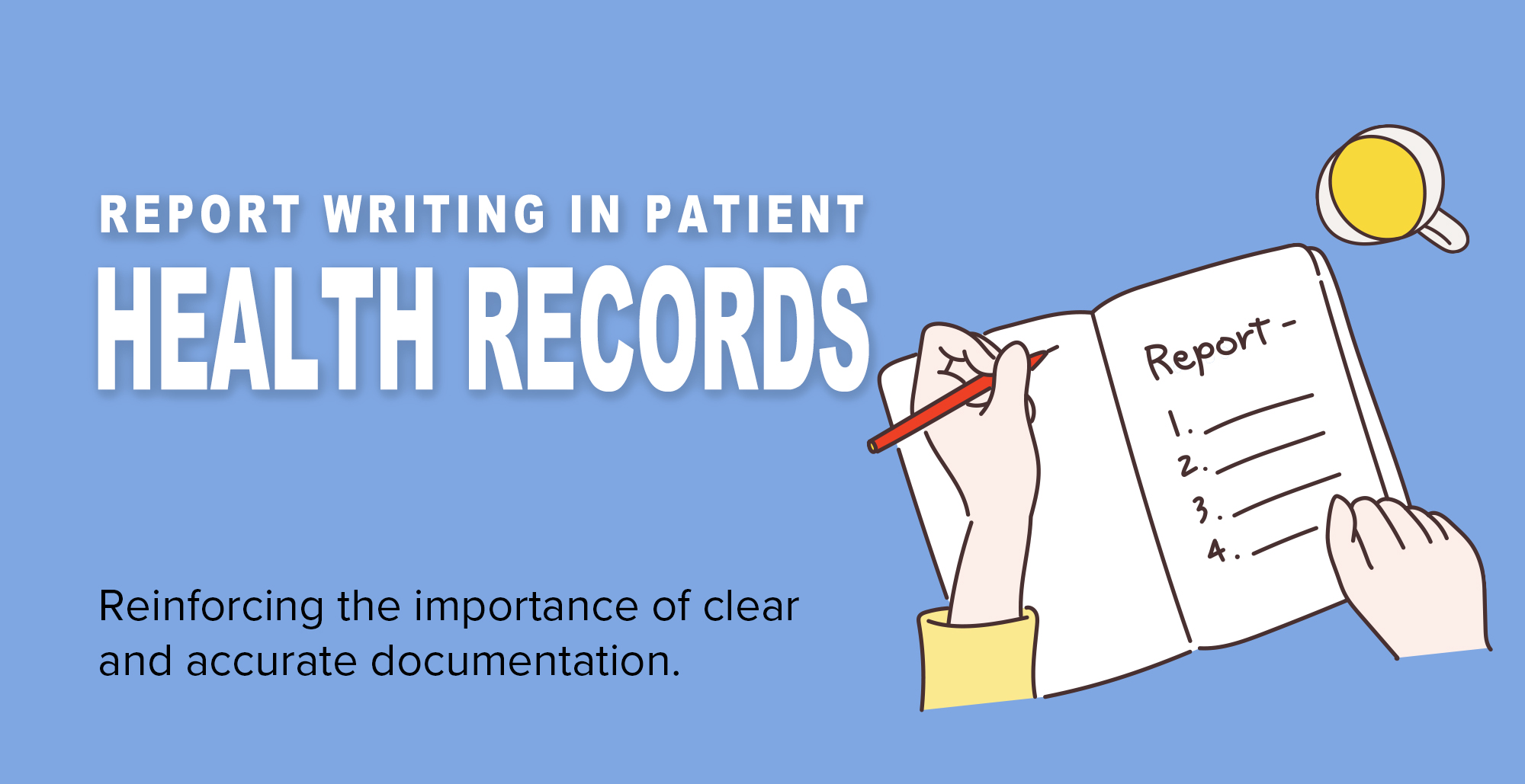 Cover image for: 'Report Writing in Patient Health Records'