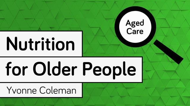 Image for Nutrition for Older People
