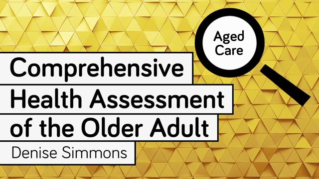 Cover image for: Comprehensive Health Assessment of the Older Adult