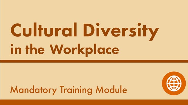 Image for Cultural Diversity in the Workplace