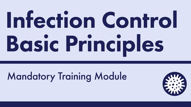 Image for Infection Control Basic Principles
