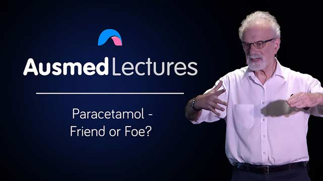 Cover image for lecture: Paracetamol - Friend or Foe?