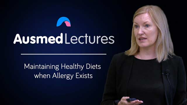 Cover image for lecture: Maintaining Healthy Diets when Allergy Exists