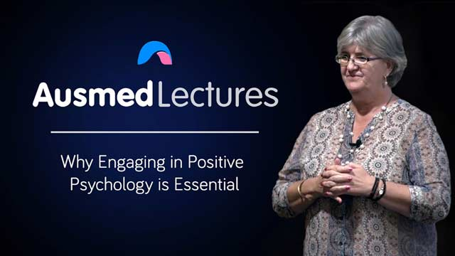 Cover image for lecture: Why Engaging in Positive Psychology is Essential