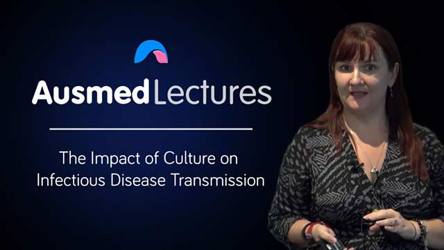 Cover image for lecture: The Impact of Culture on Infectious Disease Transmission