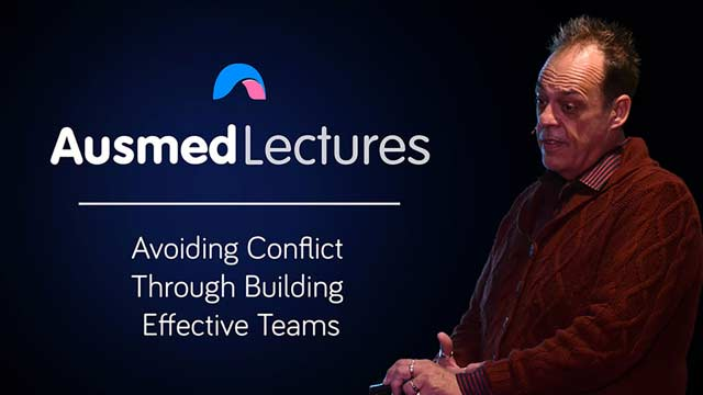 Cover image for lecture: Avoiding Conflict Through Building Effective Teams