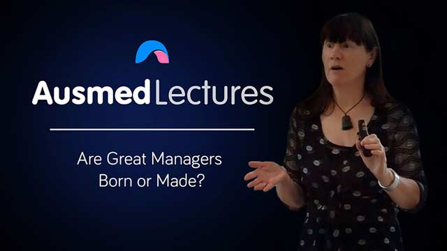 Cover image for lecture: Are Great Managers Born or Made?
