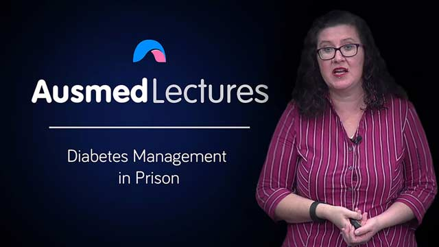 Cover image for lecture: Diabetes Management in Prison