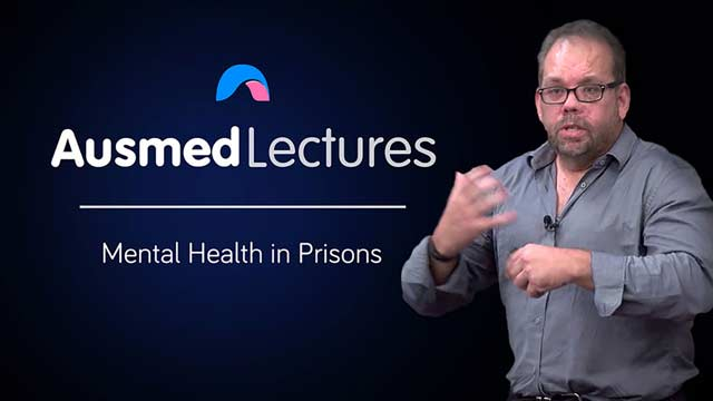 Cover image for lecture: Mental Health in Prisons