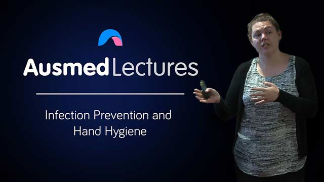 Cover image for lecture: Infection Prevention and Hand Hygiene
