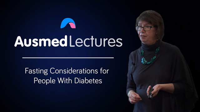 Cover image for lecture: Fasting Considerations for People With Diabetes